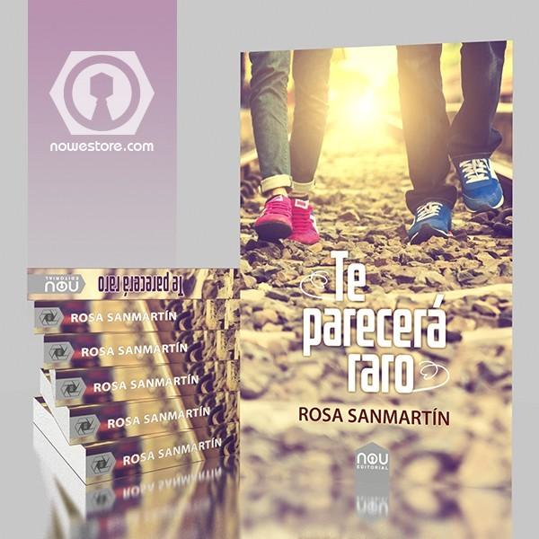 Una gran novela en Nou editorial que te emocionará, Rosa Sanmartín es una fabulosa escritora.