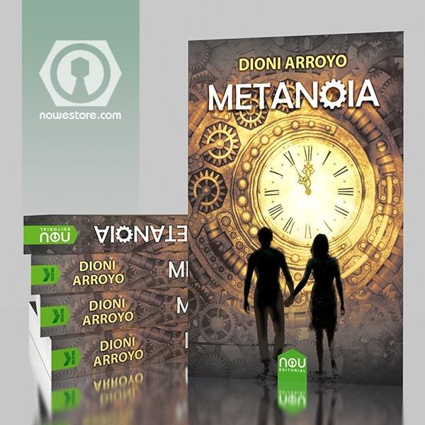 Una gran novela de Dioni Arroyo, distopía en tapa dura en Nou editorial.